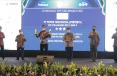 PT Pupuk Indonesia Boyong 3 Penghargaan dalam TOP CSR 2021 - JPNN.com