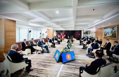 Begini Suasana Pertemuan Para Pemimpin Negara Saat Membahas Isu Myanmar - JPNN.com