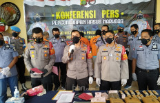 TTS dan W Tergiur Upah Rp15 Juta, Kini Nasib Kurir Narkoba Ini Menyedihkan - JPNN.com