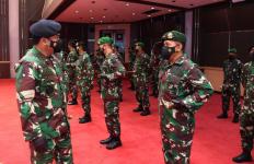 Panglima Terima Laporan Kenaikan Pangkat 34 Perwira Tinggi TNI, Nih Daftar Namanya - JPNN.com