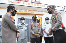 Korlantas Awasi Ketat Tempat Wisata Selama Peniadaan Mudik - JPNN.com