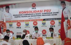 Jelang PSU Pilgub Jambi, Sekjen PKS Beri Arahan Demi Kemenangan Haris-Sani - JPNN.com