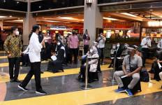 Pagi-pagi, Jokowi ke Thamrin City dan Mal Grand Indonesia - JPNN.com