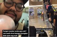 Pria Berewok di Mal Pakuwon Surabaya Bilang Orang Pakai Masker Goblok, Siap-Siap Saja - JPNN.com