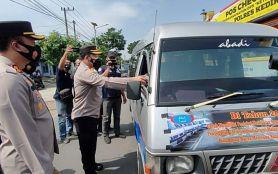 Polda Jawa Timur Ciduk 27 Mobil Travel Gelap Selama Larangan Mudik Lebaran- JPNN.com Jatim