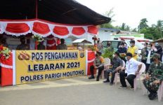 Bertemu Wagub Sulteng di Perbatasan, Gubernur Gorontalo: Larangan Mudik Berjalan Sukses - JPNN.com