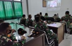 Danramil dan Prajuritnya Terima Sosialisasi Aplikasi Silacak, Nih Tujuannya - JPNN.com