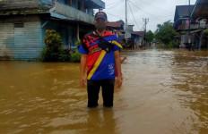 Permukiman Warga di Perbatasan RI-Malaysia Direndam Banjir - JPNN.com