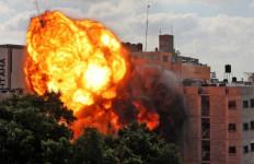 Sabtu Pagi yang Panas di Jalur Gaza, Ratusan Orang Tewas, 9 Warga Israel - JPNN.com