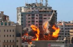 Markas Hancur Dihajar Israel, Associated Press: Tidak Ada Hamas di Sini - JPNN.com