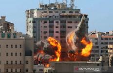 Gedung Kantor Berita Dihujani Bom, Al Jazeera: Upaya Israel Membungkam Media - JPNN.com