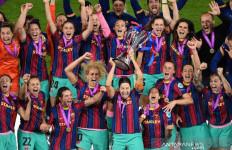 Taklukkan Chelsea 4-0, Barcelona Raih Trofi Liga Champions Wanita 2020-21 - JPNN.com