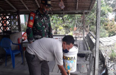 Babinsa Tebas Kawal PPKM Skala Mikro di Wilayah Binaan - JPNN.com
