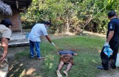 Tanpa Ampun, Anak Bantai Ayah Pakai Linggis, Korban Tewas di Tempat - JPNN.com