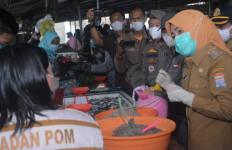 Temukan Makanan Berbahaya saat Blusukan ke Pasar, Fitrianti Agustinda Peringatkan Pedagang - JPNN.com