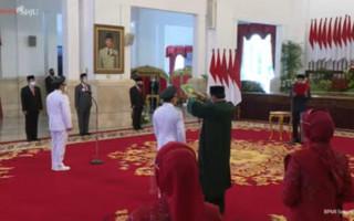Dilantik Jokowi, Sugianto Sabran - Edy Pratowo Resmi Pimpin Kalteng - JPNN.com