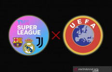Real Madrid, Juventus dan Barcelona Melawan, UEFA Dituding Langgar Perintah Hukum - JPNN.com