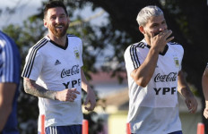Harapan Aguero Terhadap Messi, Semoga! - JPNN.com