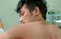 Darah Memuncrat dari Punggung Syarif - JPNN.com
