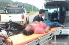 Braaak, Tangan Kanan Nyaris Putus, Alamsyah Kritis - JPNN.com