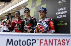 Valentino Rossi Tumbang, Fabio Quartararo Cetak 5 Pole Position Beruntun - JPNN.com