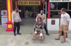 Marwan Lesmana Ditangkap, Kedua Kakinya Ditembak Petugas, Kini Terduduk di Kursi Roda - JPNN.com