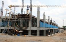 Menengok Pembangunan Kembali Pasar Aksara Kota Medan yang Berkonsep Green Building - JPNN.com