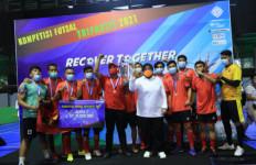 K-SPSI 1973 Rebut Juara Kompetisi Futsal Tripartit 2021 - JPNN.com