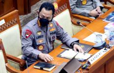 Raker dengan Komisi III, Kapolri Beberkan Lima Klaster Penularan Covid-19 di DKI Jakarta - JPNN.com