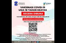 Warga Surabaya Usia 18 Tahun ke Atas belum Vaksin Silakan Mendaftar di Sini - JPNN.com