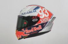 MotoGP Jerman 2021: Marc Marquez Kenalkan Helm Baru Bergaya Retro - JPNN.com