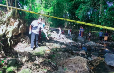 Penemuan Mayat Bayi di Pinggir Kali Gegerkan Warga Sikur Lombok Timur - JPNN.com