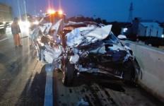 Kecelakaan Maut di Tol JORR, Fauzan Majid Meninggal Dunia, Lihat Kondisi Mobilnya - JPNN.com