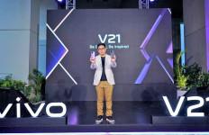 Vivo V21 Resmi Dirilis di Indonesia, Ini Spesifikasi dan Harganya - JPNN.com