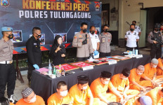 Selama Januari-Juni, Polres Tulungagung dan Polsek Jajaran Bekuk 104 Tersangka Narkoba - JPNN.com