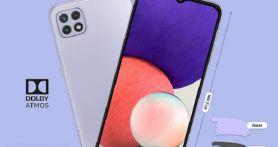 Samsung Galaxy A22 5G Meluncur di Indonesia, Ini Spesifikasi dan Harganya