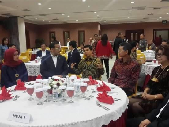 Menteri PANRB Makan Malam Bersama Delegasi Korea