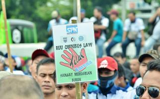 Besok Ribuan Buruh Demo di MK, Andi Gani dan Said Iqbal Ikut Mengawal - JPNN.com