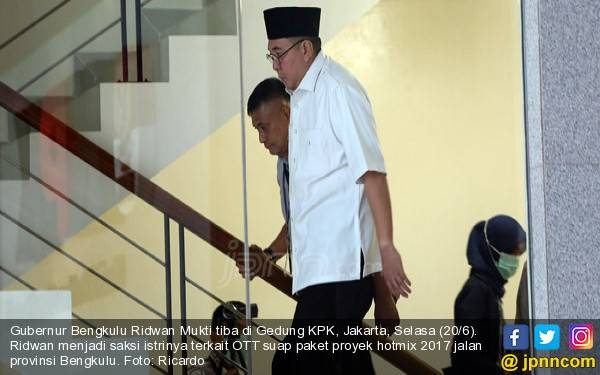KPK Bidik Tersangka Baru Kasus Suap yang Menyeret Gubernur Bengkulu - JPNN.com