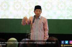 Respons Imam Besar Istiqlal soal Polemik Mengucap Salam Semua Agama - JPNN.com