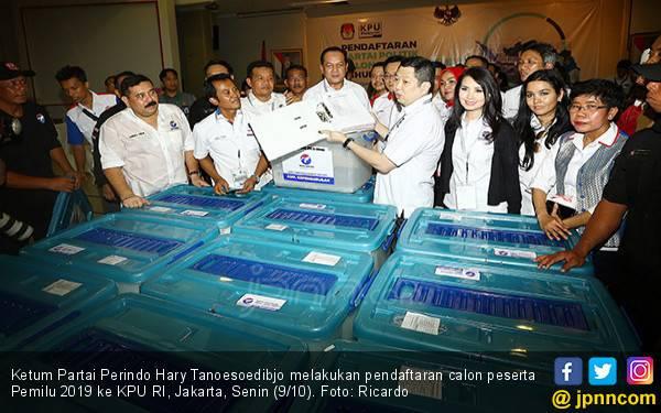 Perindo Berpeluang Masuk 5 Besar Pemilu 2019 - JPNN.com