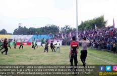 Innalillahi, Korban Kericuhan Suporter Persita vs PSMS Wafat - JPNN.com