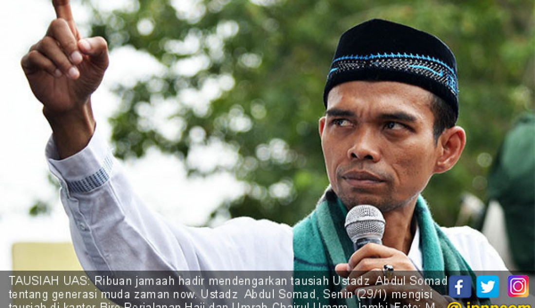 Ustadz Abdul Somad - JPNN.com