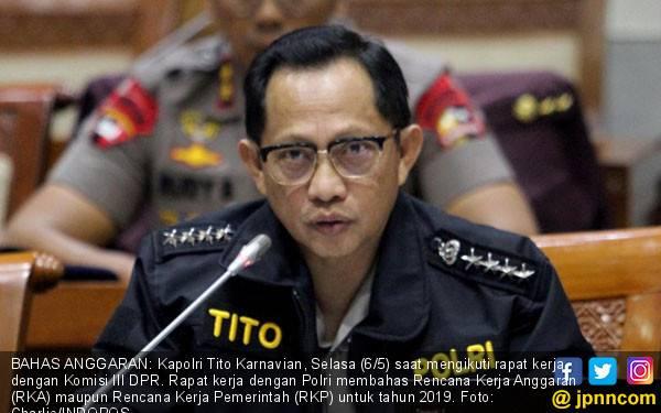 Jenderal Tito Karnavian Sudah Terlalu Lama Menjabat Kapolri - JPNN.com