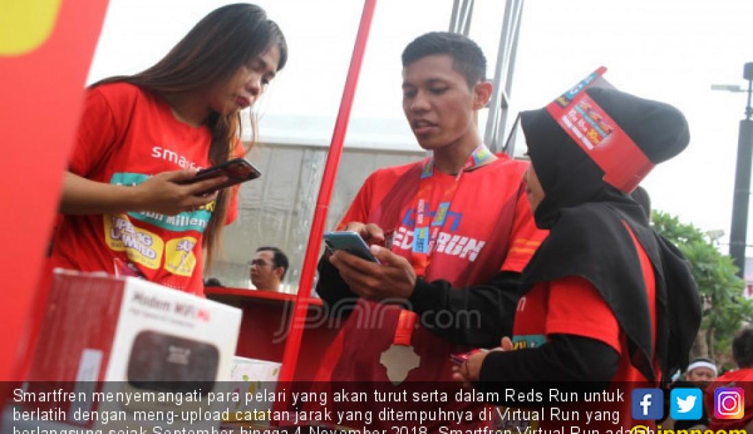 Smartfren Dukung Even Reds Run 2018 - JPNN.com