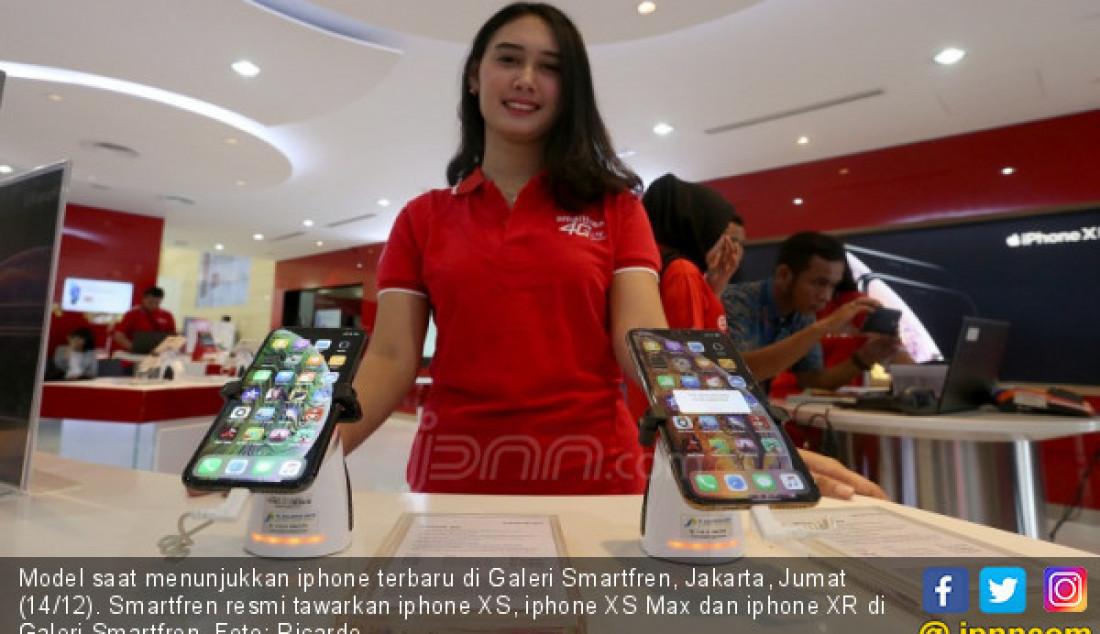 Smartfren Rilis Iphone XS, Iphone XS Max dan Iphone XR - JPNN.com