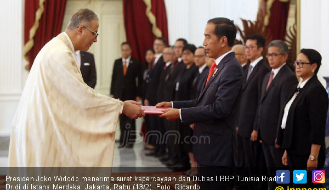 Dubes LBBP Tunisia Riadh Dridi - JPNN.com