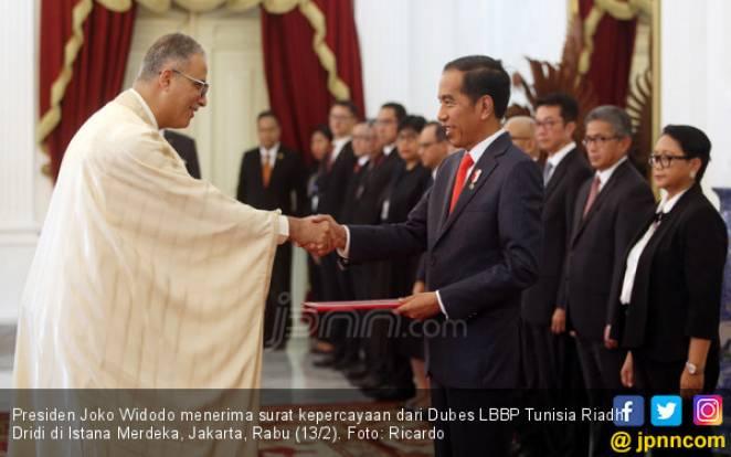 Dubes LBBP Tunisia Riadh Dridi