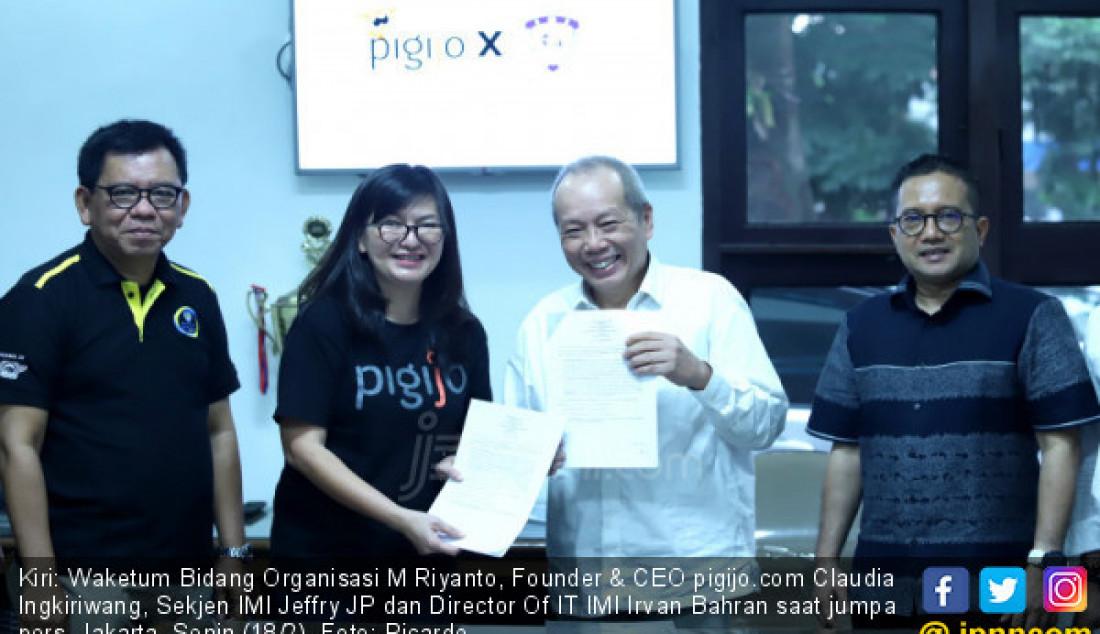 Bantu Bikers, Pigijo Berkolaborasi dengan IMI - JPNN.com