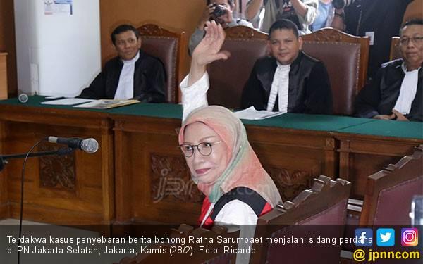 Ratna Sarumpaet Keluhkan Ventilasi Rutan, Polisi: Jangan Samakan Dengan Rumah - JPNN.com